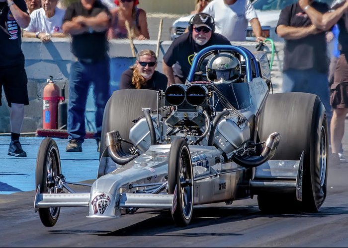 Dragway Greeting Cards