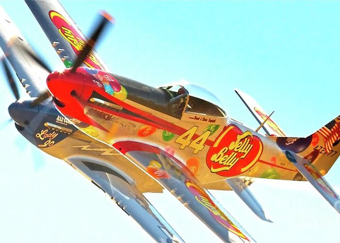 Reno Air Races Greeting Card featuring the photograph Air Racing Reno Style by Gus McCrea