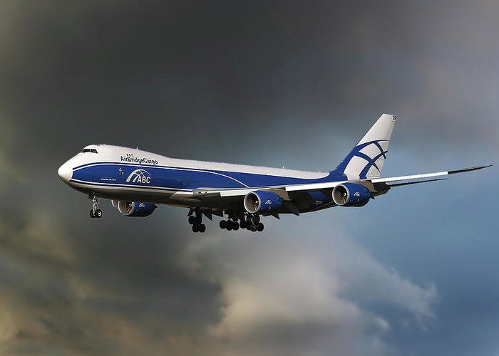 Boeing 747 Greeting Cards
