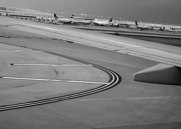 Taxiway Greeting Cards