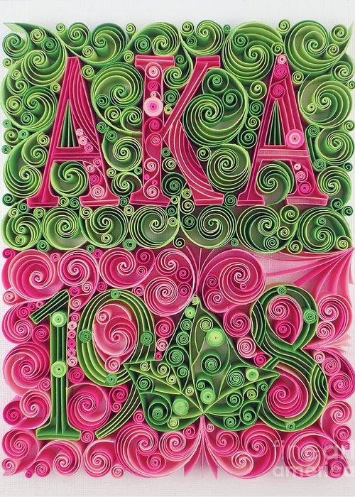 Alpha kappa alpha art fine art america alpha kappa alpha greeting cards colourmoves