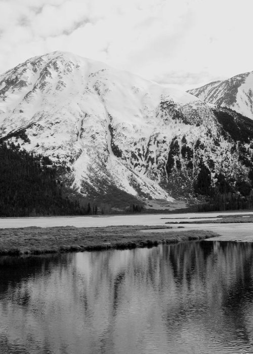 Landscape Greeting Card featuring the photograph Alaska Reflection by Ty Nichols