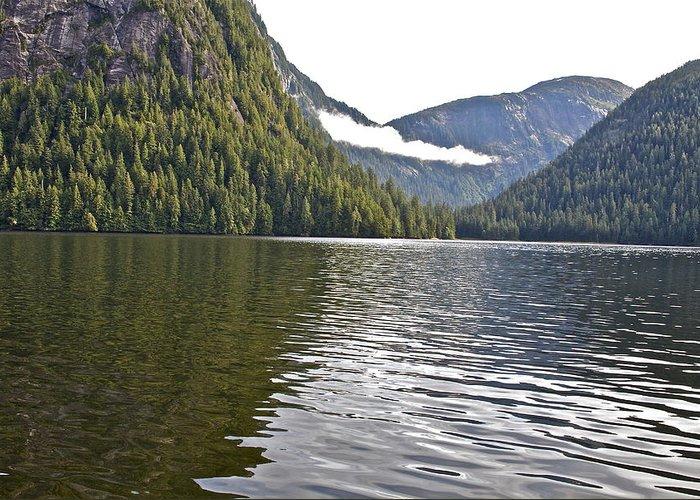 Mountains Greeting Card featuring the photograph Alaskan Lake by Robert Joseph