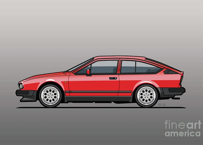 Designs Similar to Alfa Romeo Gtv6 Red