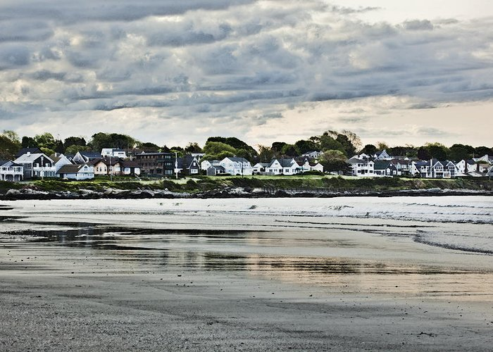 Rhode Island Greeting Card featuring the photograph Along The Beach by Joel P Black