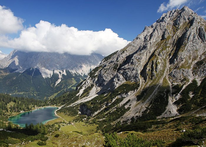 Alps Greeting Card featuring the photograph Alps Austria by Kurt Williams