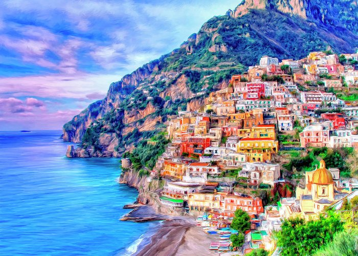 Positano Greeting Cards