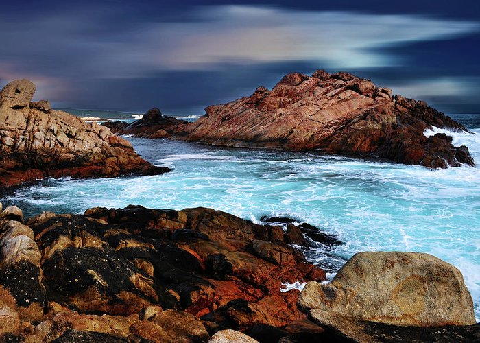 Landscapes Greeting Card featuring the photograph Amazing Coast by Phill Petrovic