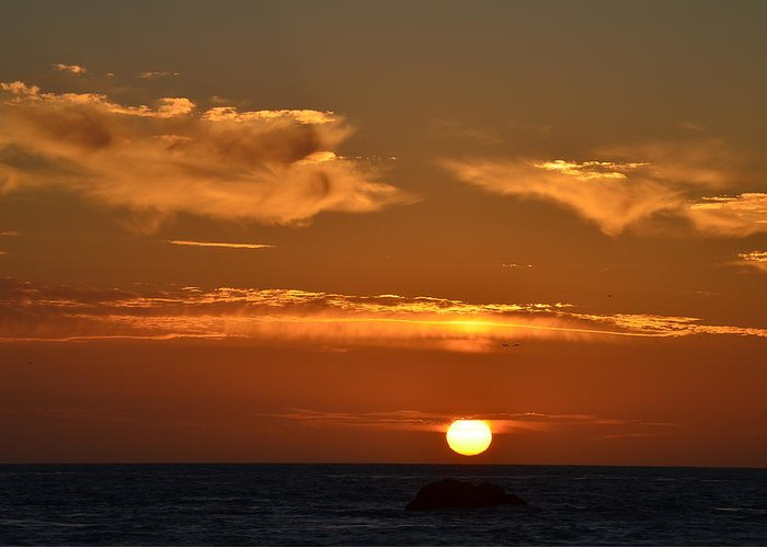 Sunsets Greeting Card featuring the photograph Amazing Sunset 251 by Remegio Dalisay