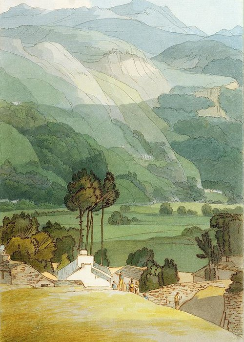 Xyc212098 Greeting Card featuring the photograph Ambleside by Francis Towne