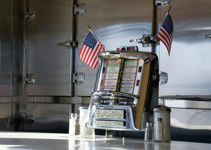 Diner Greeting Card featuring the photograph Americana by Randy Ford
