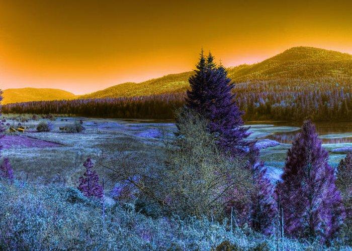 Fantasy Greeting Card featuring the photograph An Idaho Fantasy 1 by Lee Santa