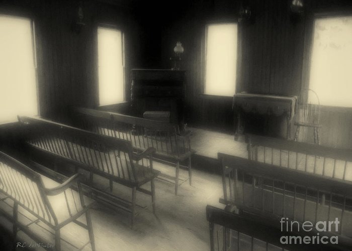 Benches Greeting Card featuring the photograph Ancestor Worship by RC DeWinter