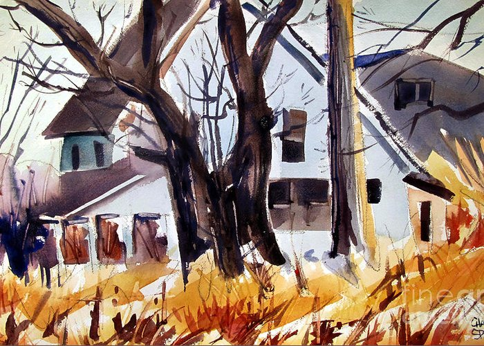 Indiana Scenes Paintings Greeting Cards