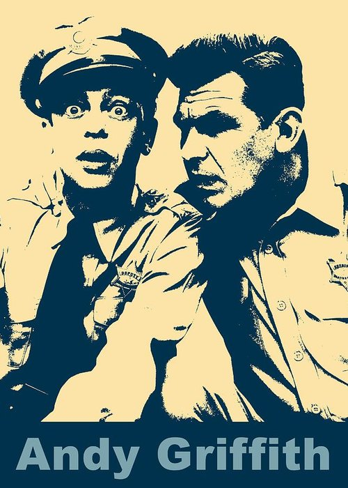 Andy Griffith Show Digital Art Greeting Cards