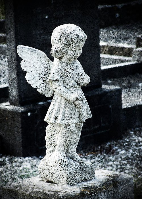Ireland Greeting Card featuring the photograph Angel In Roscommon No 3 by Teresa Mucha