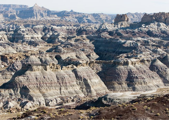Landscape Greeting Card featuring the photograph Angel Peak - Badlands by Steven Folino