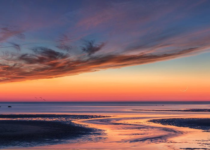 Cape Cod Greeting Card featuring the photograph Another Day by Bill Wakeley