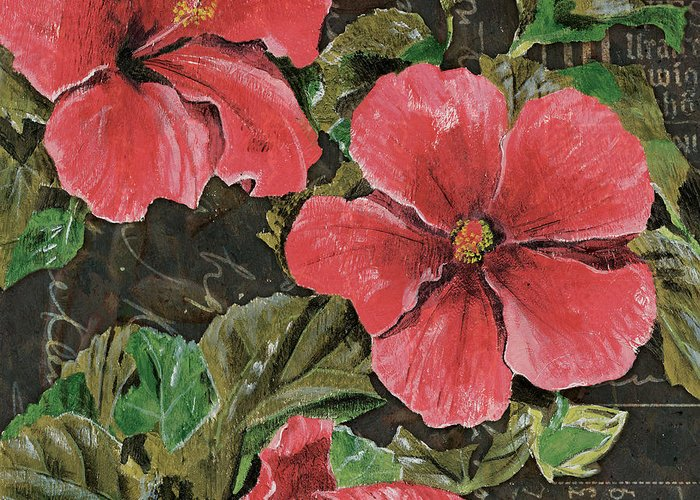 Hibiscus Flower Stationery