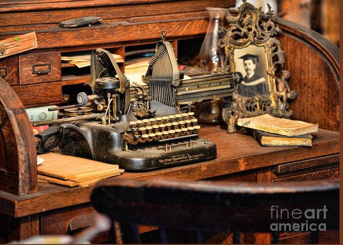 Oliver Typewriter Co. Oliver Typewriter Greeting Cards