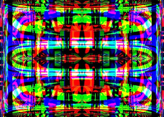 Digital Greeting Card featuring the digital art Arca by Blind Ape Art