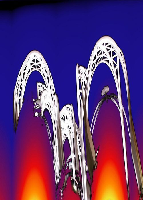 Seattle Greeting Card featuring the photograph Arches 8 by Tim Allen
