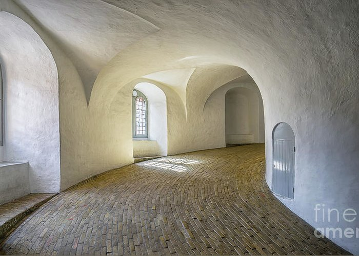 Isaev Greeting Card featuring the photograph Arches And Curves by Vyacheslav Isaev