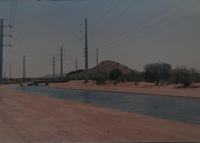 Arizona Greeting Card featuring the photograph Arizona Waterway by Rob Hans