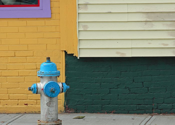Ar;ington Greeting Card featuring the photograph Arlington Hydrant by Art Ferrier