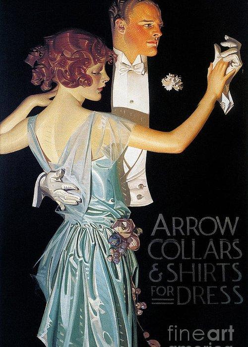 Designs Similar to Arrow Shirt Collar Ad, 1923