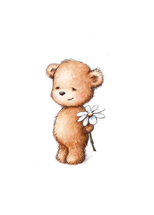 Babies Drawings Greeting Cards