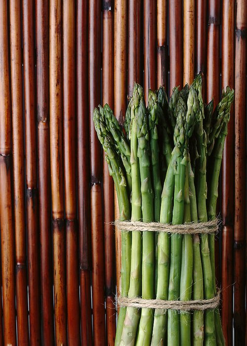 Asparagus Greeting Card featuring the photograph Asparagus by Jessica Wakefield