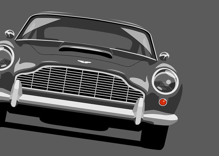 Aston Martin Greeting Cards
