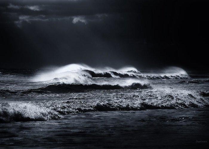 Atlantic Ocean Greeting Card featuring the photograph Atlantic Ocean by Dapixara Art