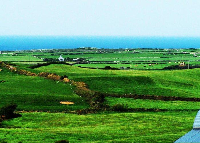 Ireland Greeting Card featuring the photograph Atlantic View Doolin Ireland by Teresa Mucha