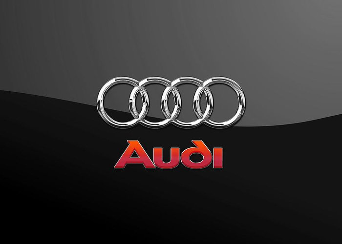 Audi Greeting Cards