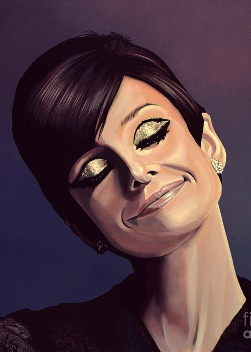 Audrey Hepburn Greeting Cards