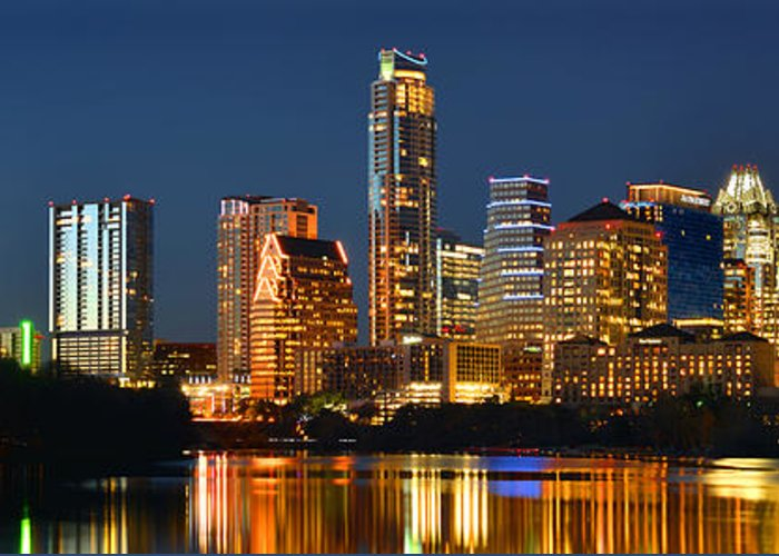 Austin Downtown Greeting Cards