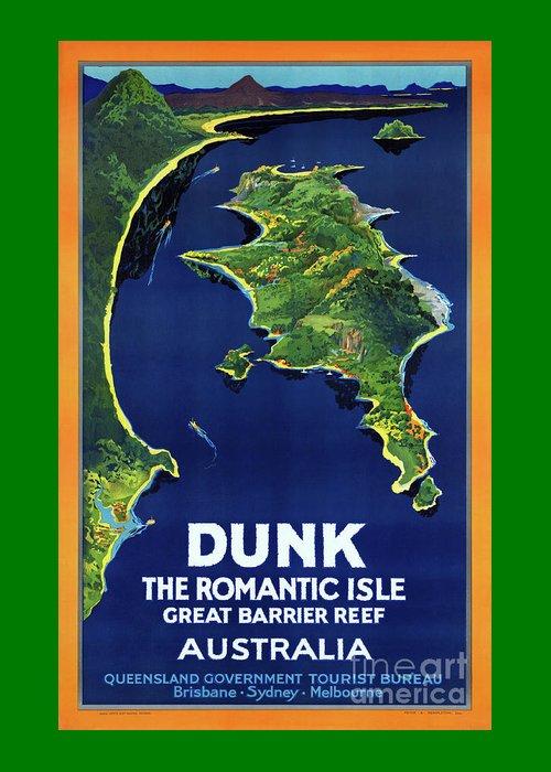Dunk Island Mixed Media Greeting Cards