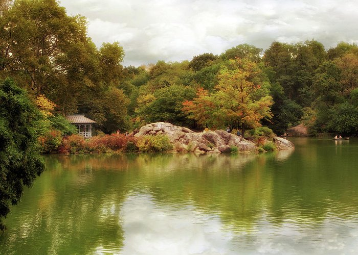 Nature Greeting Card featuring the photograph Autumn At Hernshead by Jessica Jenney