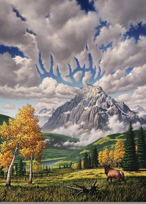 British Columbia Paintings Greeting Cards
