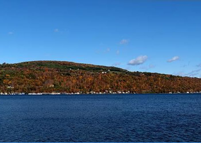Hammondsport New York Greeting Card featuring the photograph Autumn In The Finger Lakes by Joshua House