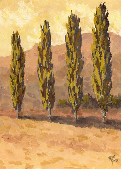 Fall Scenes Paintings Greeting Cards