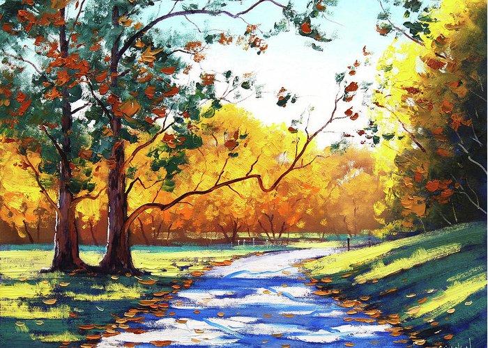 Autumn Scenes Greeting Cards