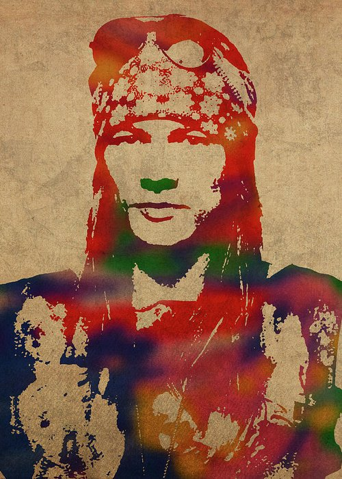 Axl Rose Greeting Cards