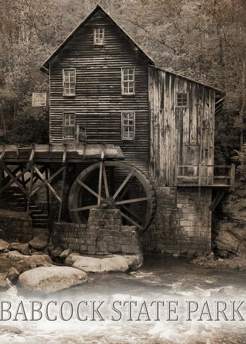Grist Mill Mixed Media Greeting Cards