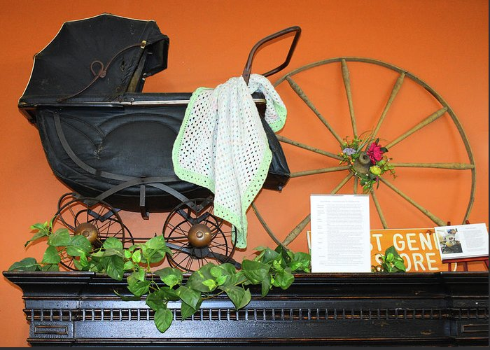 Greeting Card featuring the photograph Baby Buggy by Tony Culpepper
