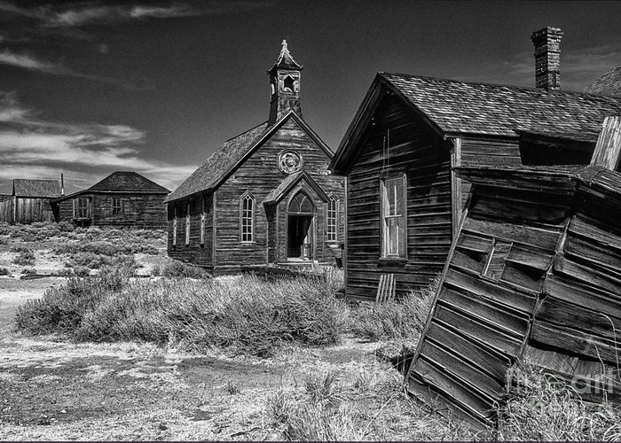 Bodie Out House Greeting Cards