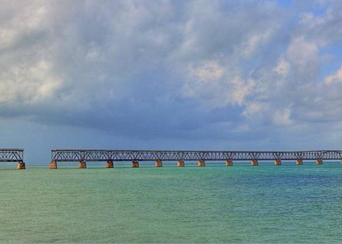 Florida Greeting Card featuring the photograph Bahia Honda by Sean Allen