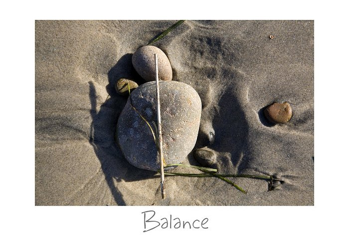 California Greeting Card featuring the photograph Balance by Peter Tellone